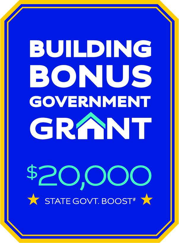 Building Bonus Government Grant