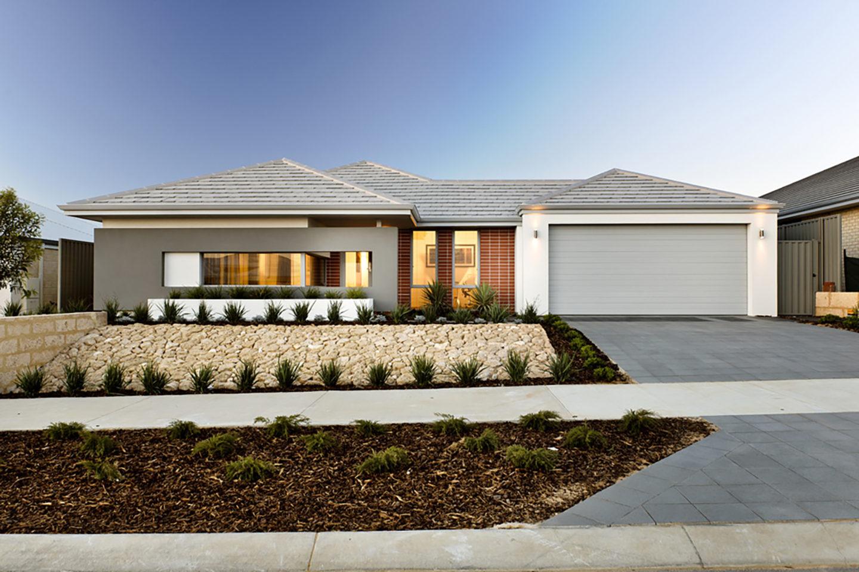 Metrostyle single storey home designs Perth