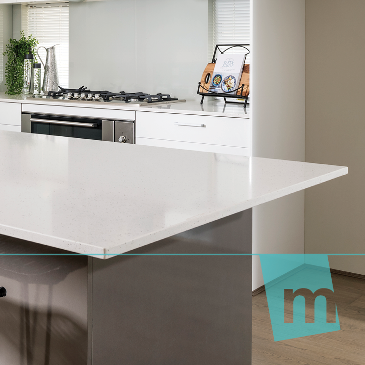 Free inclusions stone benchtops to kitchen